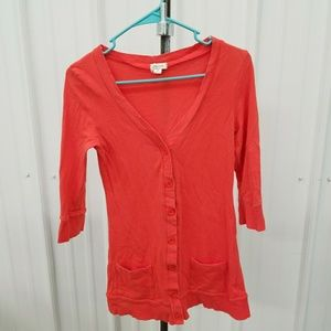 Orange sweater BX1577